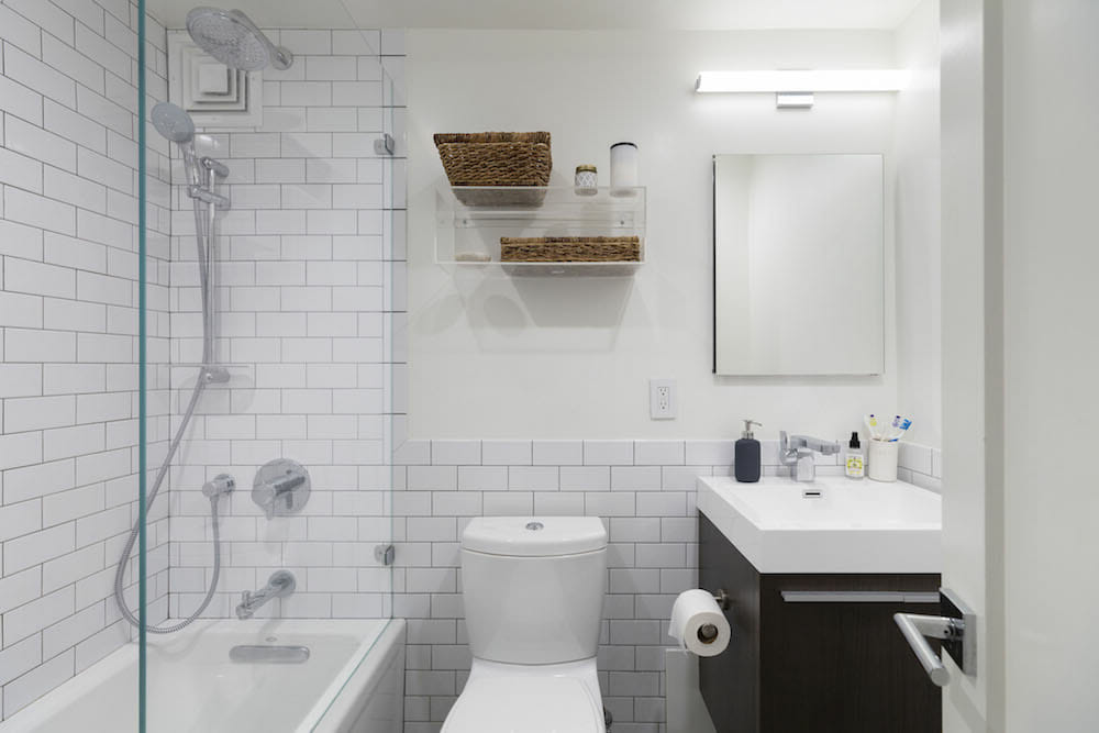 Clinton Hill, Brooklyn, renovation, 浴室, shower, toilet, home, design