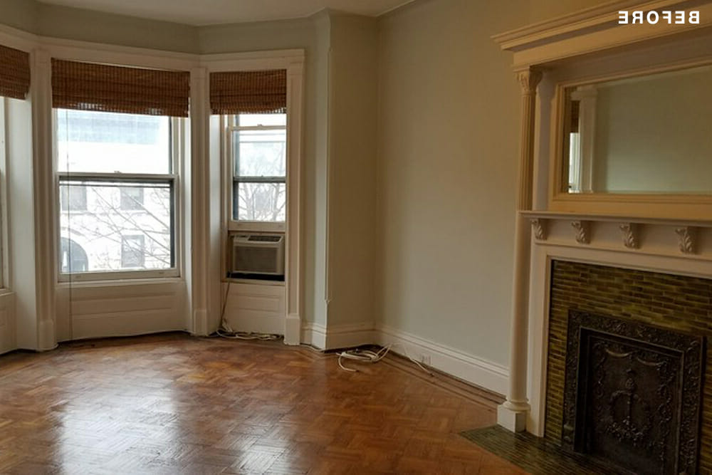 Park Slope, Brooklyn, home, renovation, living room, design, construction, brownstone co-op renovation